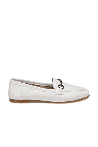 Butigo OZIL Beyaz Kadın Loafer Ayakkabı 101045815