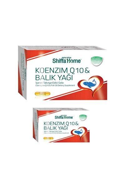 Shiffa Home Koenzim Q10 & Balık Yağı X 2 Adet