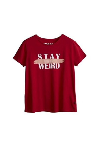 Bad Bear Kadın T-shirt Stay Weird Tee 21.03.07.008