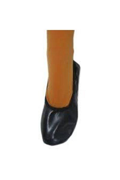 salarticaret Siyah Pisipisi Bale Ayakkabısı