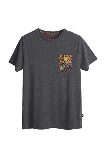 Bad Bear Erkek  Antrasit T-shirt