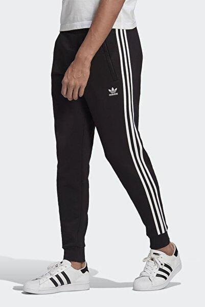 adidas Erkek Siyah Günlük Eşofman Altı 3 Stripes Pant Gn3458