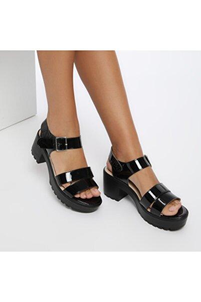 Butigo S803-19IY Siyah Kadın Sandalet 100381771