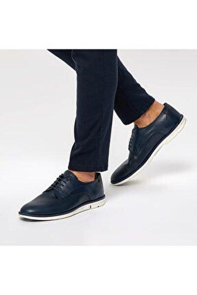 3898 Lacivert Erkek Deri Ayakkabı 100381179