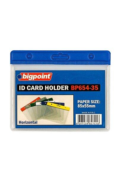 Bigpoint Kart Poşeti Yatay Mavi 85x55mm 10'lu Poşet