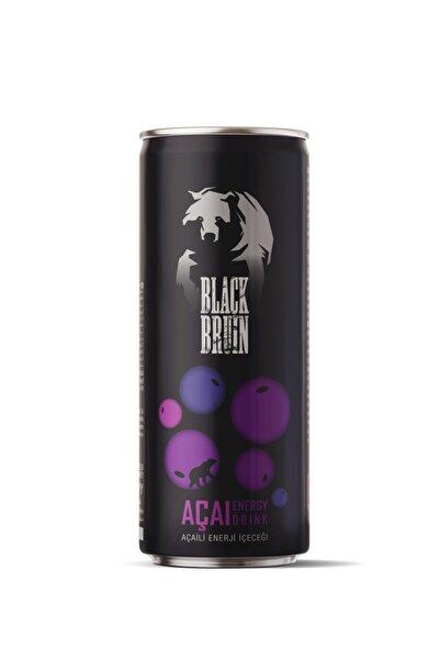 Black Bruin Açaili Enerji İçeceği 250 ml 12'li