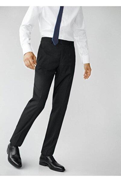 MANGO Man Regular Kesimli Mini Dokuma Takım Pantolon