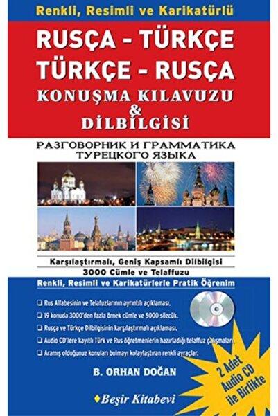 Beşir Kitabevi Rusça Türkçe Türkçe Rusça Konuşma Kılavuzu Dilbilgisi 1 Kitap 2 Cd