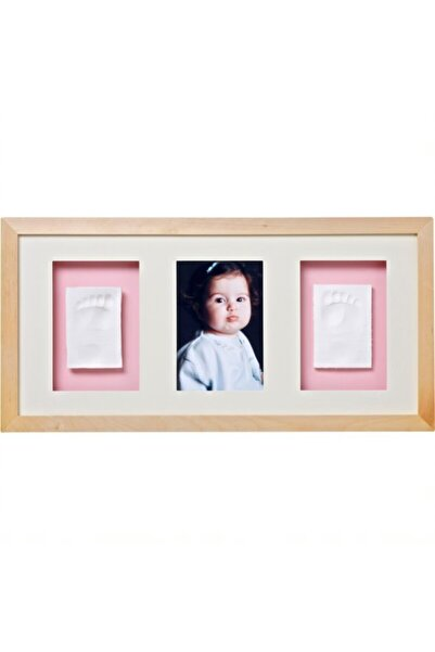Baby Memory Prints Üçlü Çerçeve Naturel /