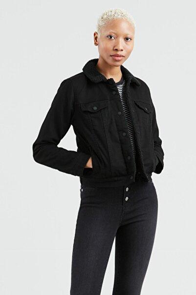 Levi's Kadın Siyah Jean Ceket 36136-0020
