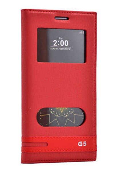 LG G5 Uyumlu Kılıf Canpay Moda Kapaklı Kılıf Clamshell Case