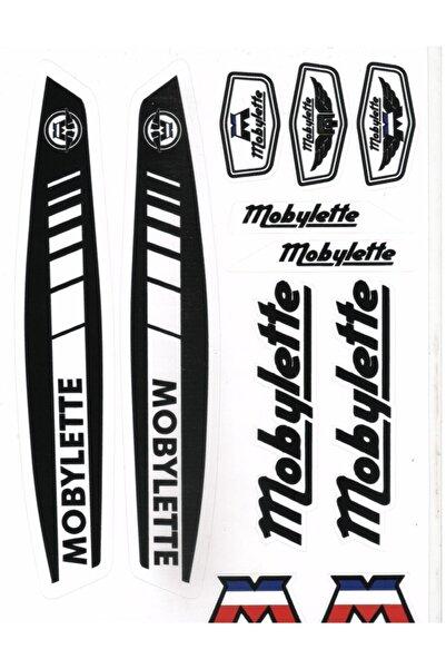 Alkan Mobilet Siyah A4 Boyutunda Çıkartma Seti