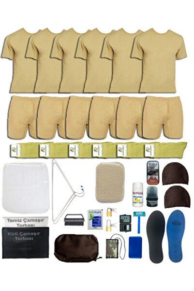 askerpaketi 6'lı Temel Asker Seti: Bedelli/acemi Yazlık Askeri Malzeme Paketi