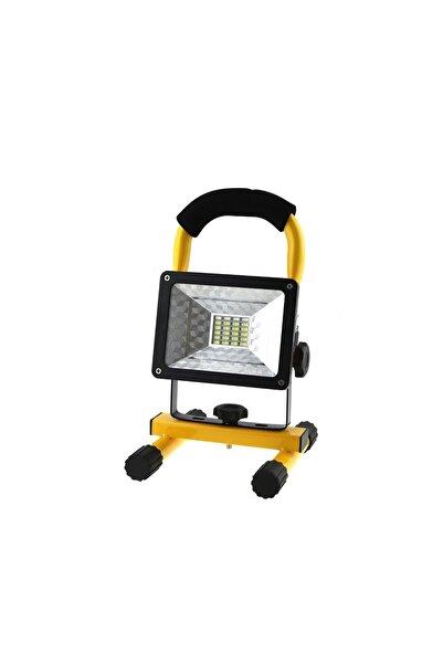 Sezy Profosyonel 30 Watt Projektör Şarjlı Projektör Avcı El Feneri