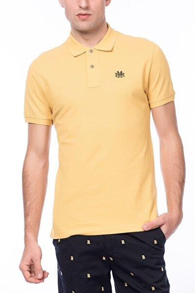 Ruck & Maul Erkek Polo Yaka T-shirt AF1M0110112