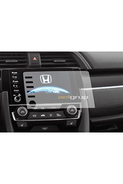 ael-tech Honda Civic Makyajlı Kasa Fc5 Navigasyon Temperli Nano Ekran Koruyucu
