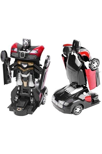Sole Transformers 2in1 Robota Dönüşen Işıklı, Sesli, Sensörlü Bugatti Araba