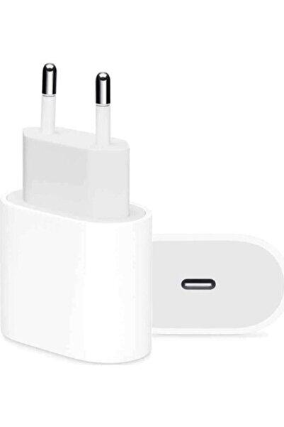 SPACE-M TEKNOLOJİ Apple Iphone 11/12/13 Pro Max 18 Watt Usb-c Hızlı Şarj Güç Adaptörü