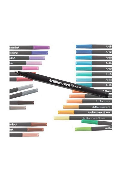 artline Supreme Fine Keçe Uçlu Kalem 0,4mm Pastel Pembe