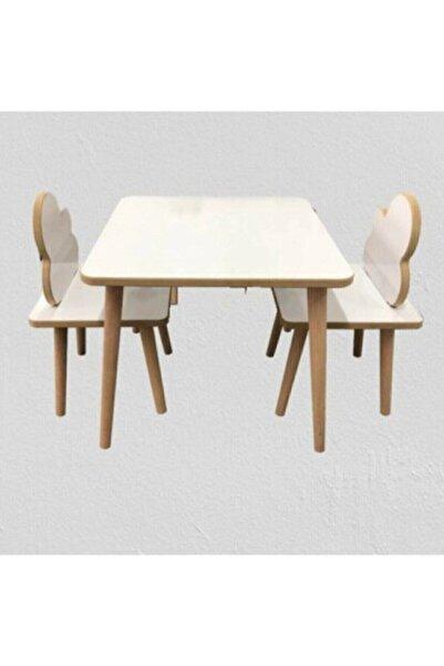 Viviki Çocuklar Için Yaz Sil Yüzey Masa Sandalye Takımı