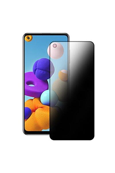 Bufalo Samsung Galaxy A21s Uyumlu Hayalet Privacy Gizli Cam Ekran Koruyucu