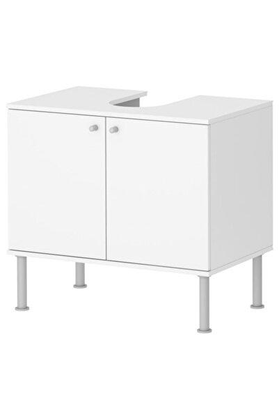 IKEA Fullen Lavabo Dolabı Beyaz, 60x35x55 Cm