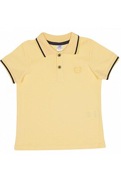 Soobe Erkek Çocuk Pike Tshirt Sarı