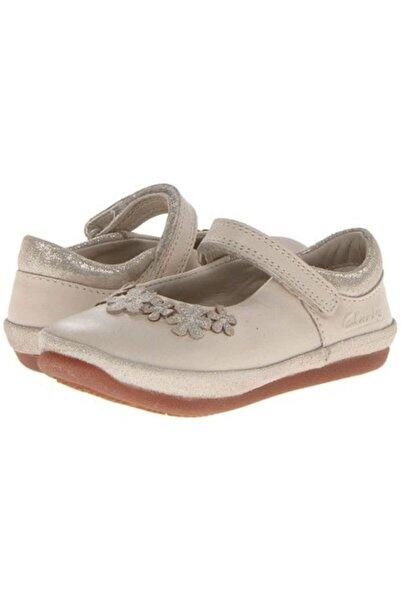CLARKS Kız Çocuk Bej İlk Adımlar Ortopedik Ayakkabı 18 24