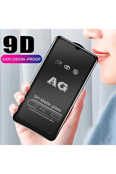 Sunix Samsung Galaxy M51 9d Tam Kaplayan Mat Seramik Cam Ekran Koruyucu