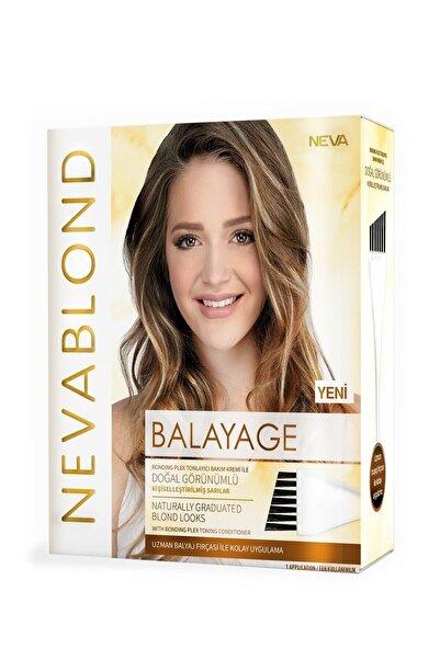 Neva Blond Balyaj Saç Boyama Seti Doğal Görünümlü Sarılar