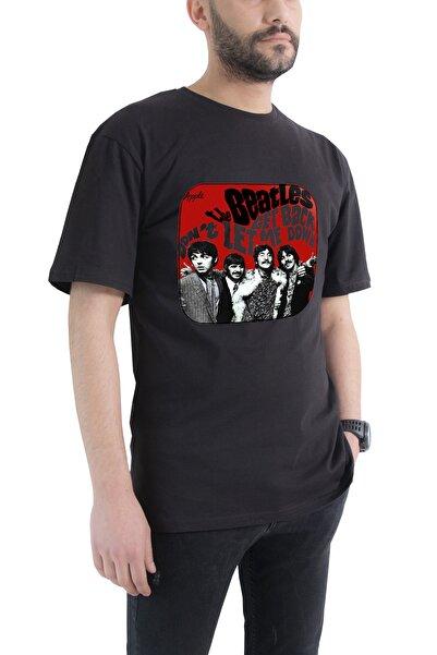 Tshigo Oversize The Beatles Get Back Baskılı T-shirt