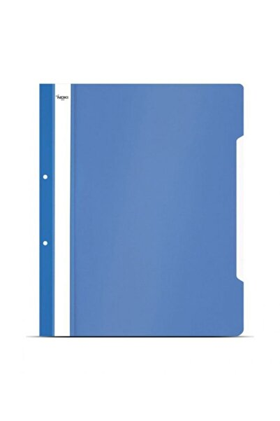 Noki Nokı Eco Telli Dosya 50 Li Paket Mavi