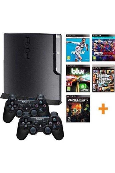 Sony Ps3 1 Tb Hafıza | 250 Adet Oyun | 2 Sıfır Kol | Teşhir