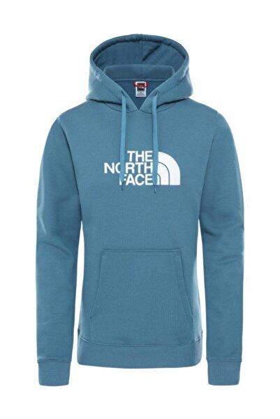 THE NORTH FACE Drew Peak Pullover Hoodie Kadın Sweatshirt Mavi