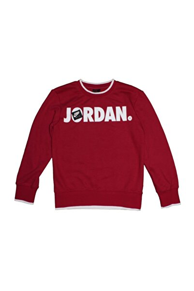 Nike Jordan Jumpman Ft Crew Çocuk Sweat