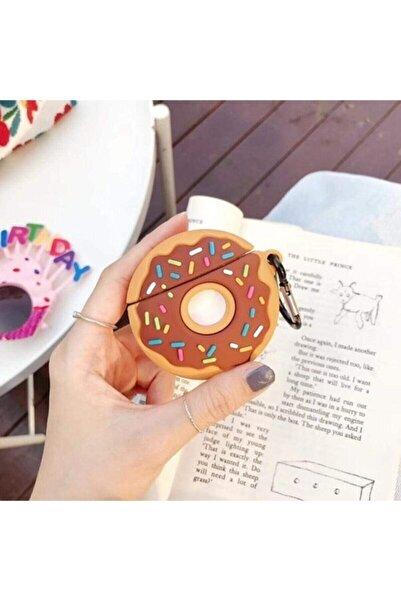 Sunix Airpods Kılıf Sevimli Donut Airpods Kılıfı 1. Ve 2. Nesil Uyumlu