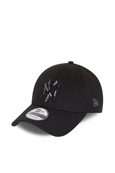 NEW ERA New York Yankees City Camo Black 9forty Snapback Şapka 60112622