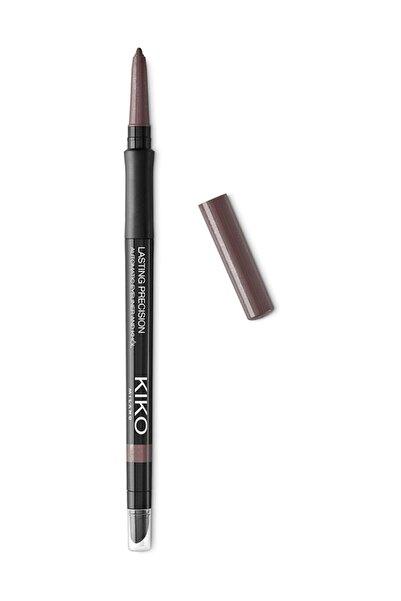 KIKO Göz Kalemi - Lasting Precision Automatic Eyeliner & Kajal 14 Shimmering Dark Taupe
