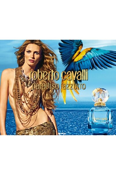 Roberto Cavalli Paradiso Azzuro Edp 75 ml Kadın Parfüm 3614220940991