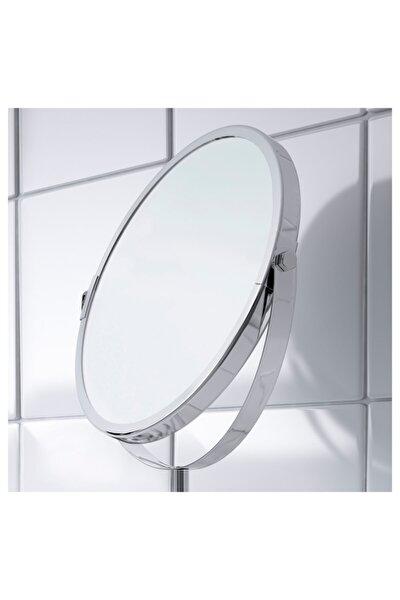 IKEA Büyüteçli Trensum Paslanmaz Çelik Ayna 17 cm Çap