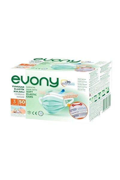 Evony Cerrahi Maske 1 Kutu Içinde 50 Adet Bütün Ürünlerimiz Orijinal Üründür
