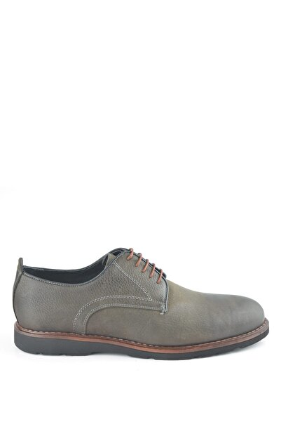 İgs Erkek Haki Nubuk Deri Günlük Ayakkabı I180118-2 M 1000