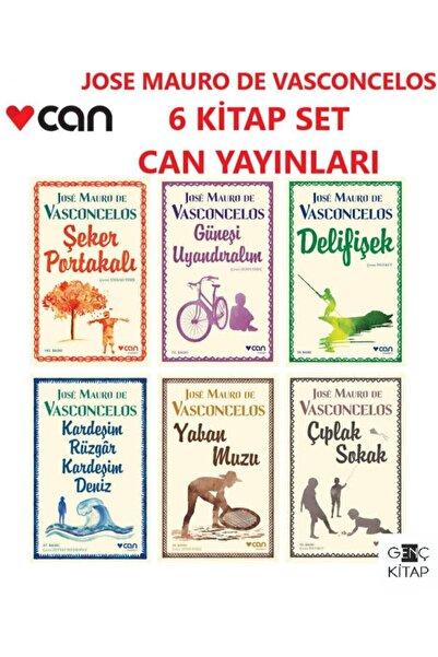 Can Yayınları Jose Mauro De Vasconcelos 6 Kitap Set Şeker Portakalı-güneşi Uyandıralım-delifişek-yaban Muzu