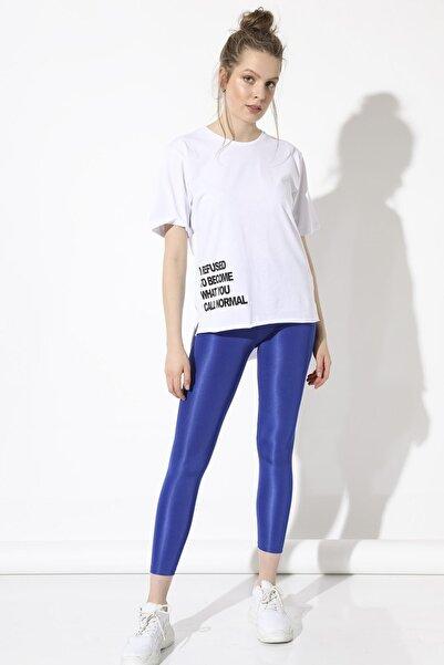 Arma Life Eteği Baskılı T-shirt