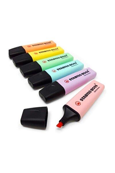 Stabilo Boss Original Fosforlu İşaretleme Kalemi 6 Renk Set S.70/s