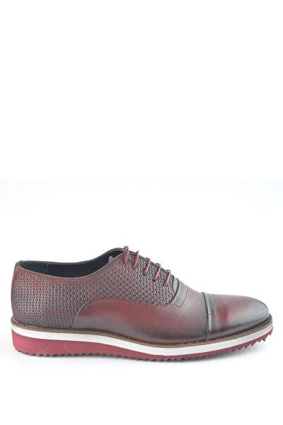 İgs Erkek Bordo Deri Günlük Ayakkabı I1711459-3 M 1000