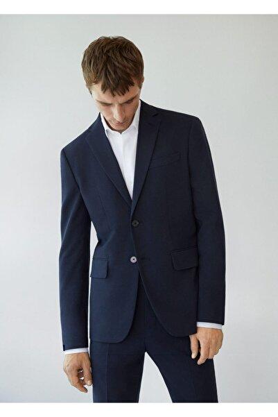 MANGO Man Dar Kesimli Takım Blazer Ceket