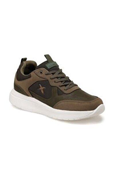 MUNDU Haki Erkek Kalın Taban Sneaker Spor Ayakkabı 100552229