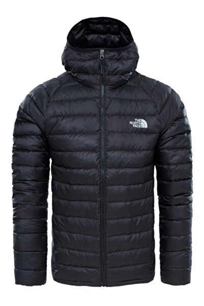 THE NORTH FACE Erkek Siyah Trevail Hoodie Down Mont - T939n4kx7