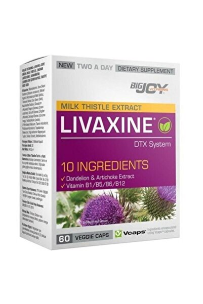 Big Joy Milk Thistle Livaxine 60 Kapsül